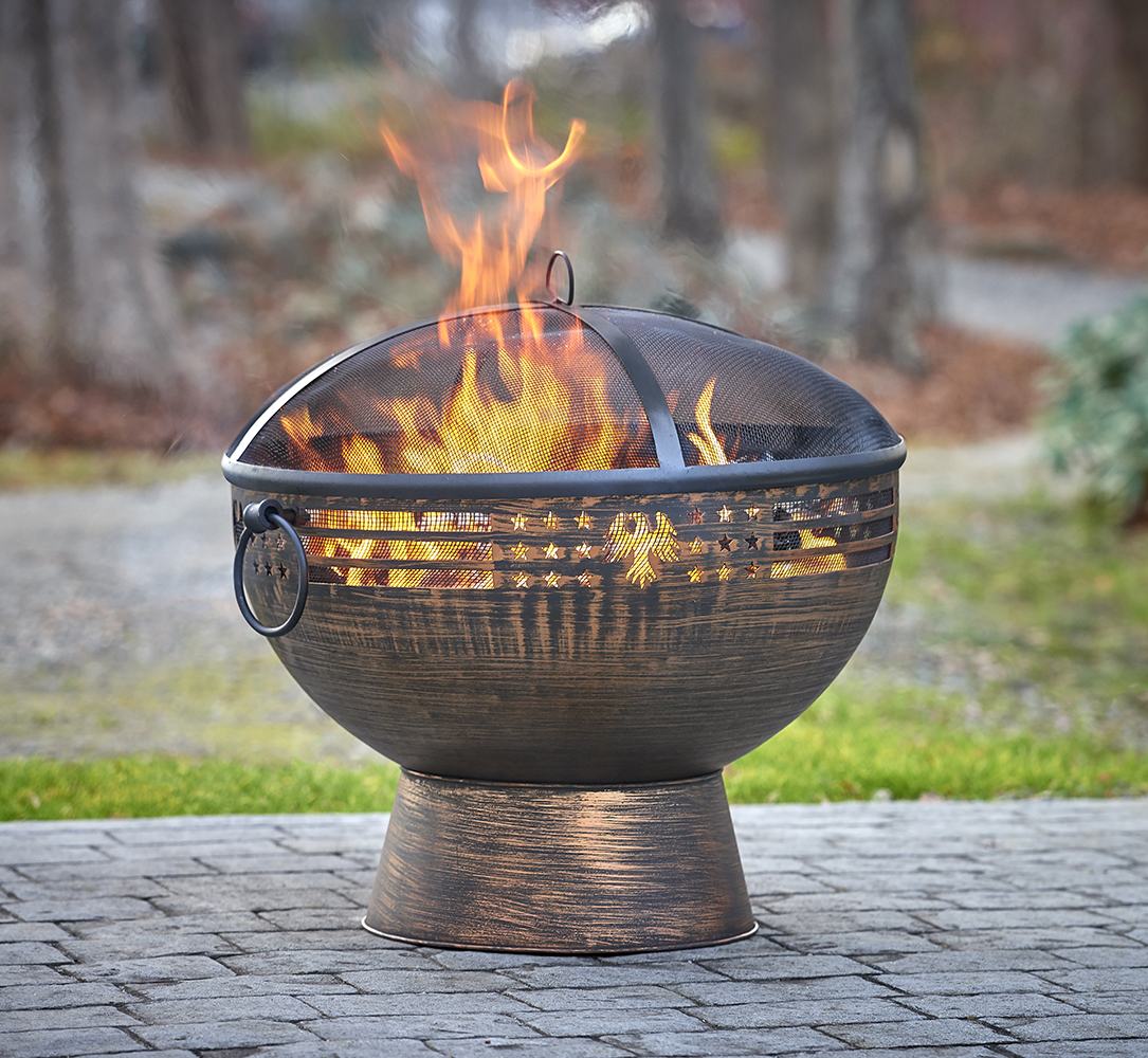 Fire Pits and Fire Domes in various designs.