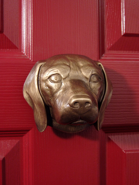 Bronze Dog Breed Door Knockers
