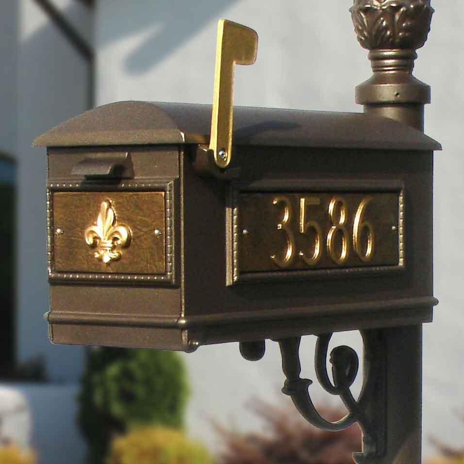 Elegant Ceramic Aluminum Address Plaques Decorative Address | Ask Home ...