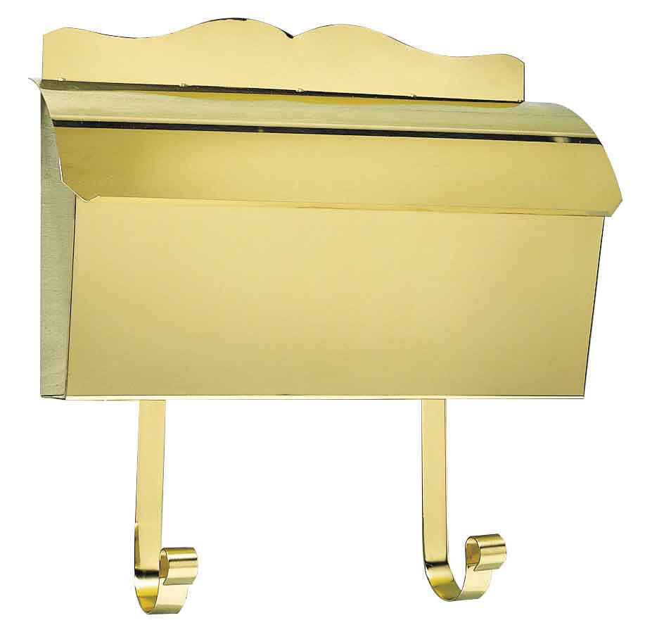 Home >> Provincial Collection Wall Mailboxes >> Polished Brass Roll ...