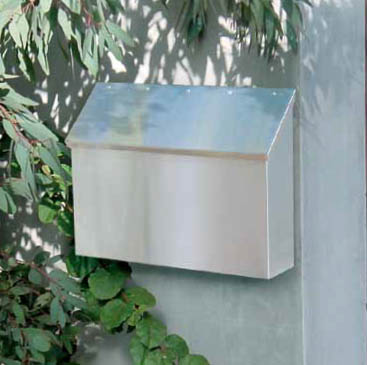 Stainless Wall Mount Mailboxes