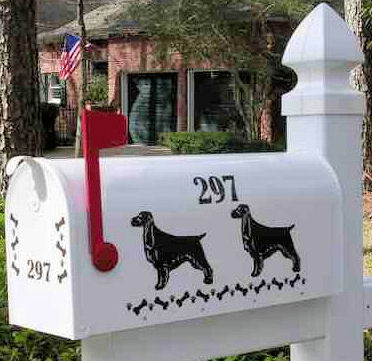 Home >> Dog Mailboxes >> English Field Spaniel Dog Mailbox