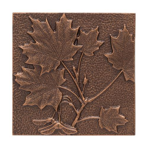 Maple Leaf Wall Décor - Antique Copper