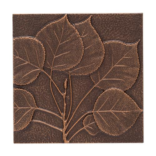 Aspen Leaf Wall Décor - Antique Copper