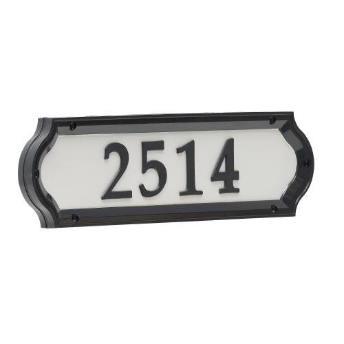 Nite Bright Richfield Home Address Sign