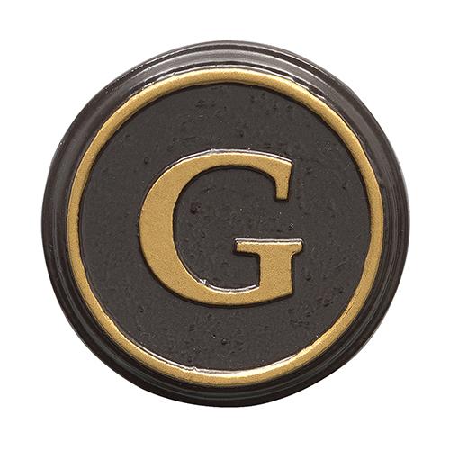 Balmoral Personalized Monogram - Bronze Gold