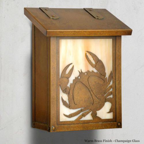 Crab Vertical Wall Mailbox