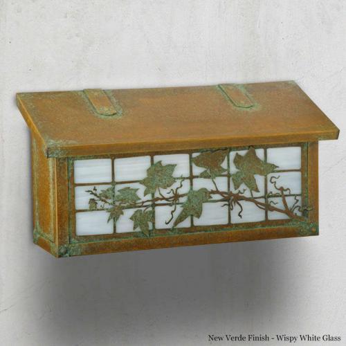English Ivy Horizontal Wall Mailbox