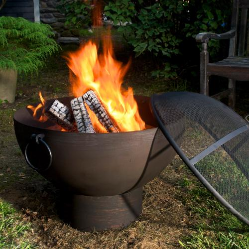 Fire Bowl w/Spark Screen