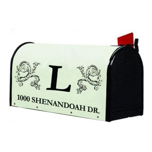Monogram Mailbox - Style: Classic Monogram