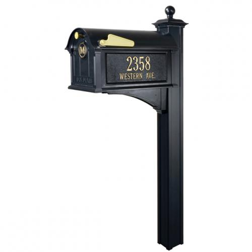 Balmoral Mailbox Package - Black