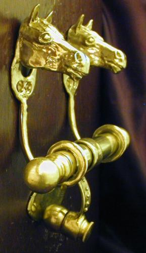 Horse Head Bronze Door Knocker