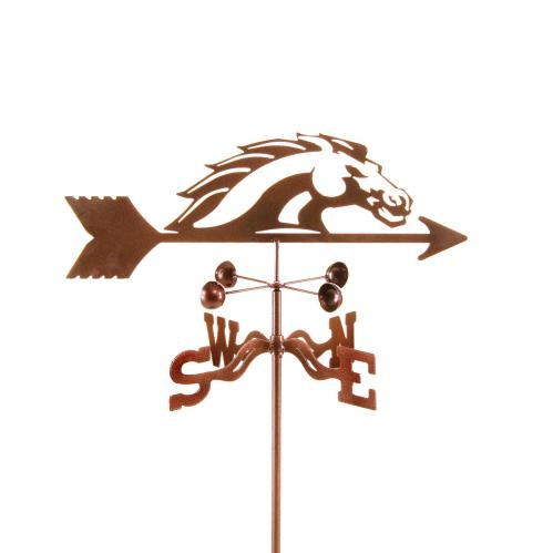 Bronco Collegiate Garden Weathervane