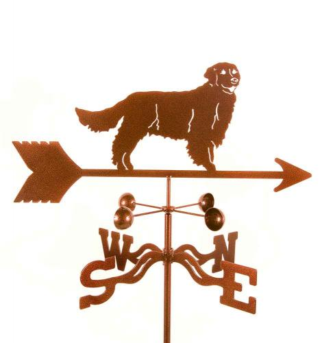 Golden Retriever Garden Weathervane