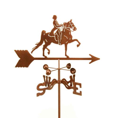 English Rider Horse Garden Weathervane