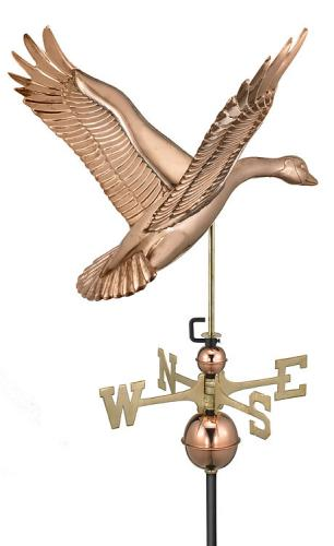 Copper Goose Weathervane