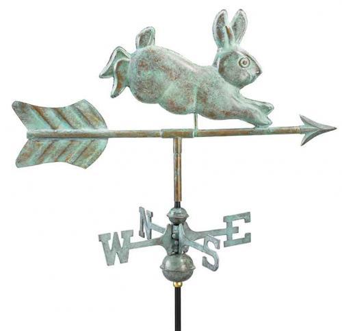 Garden Weathervane - Rabbit