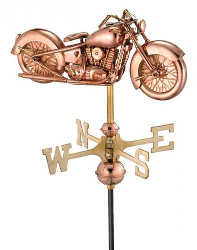 Garden Weathervane - Motorcycle