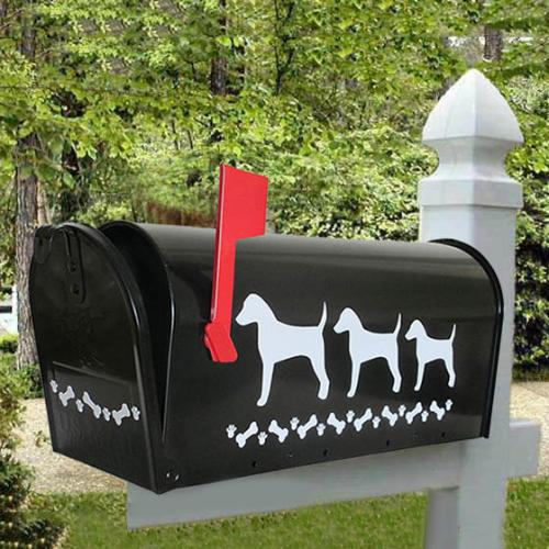 Jack Russell Terrier Dog Mailbox