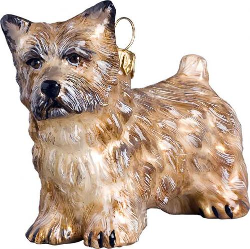 Cairn Terrier (Wheaten) Dog Ornament