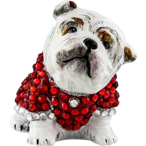 Diva Dog Bulldog in Crystal Encrusted Coat