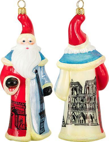 French Flag Santa