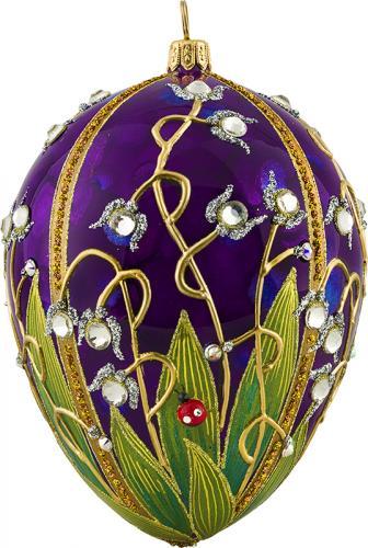 Jeweled Ladybug Glitterazzi Ornament