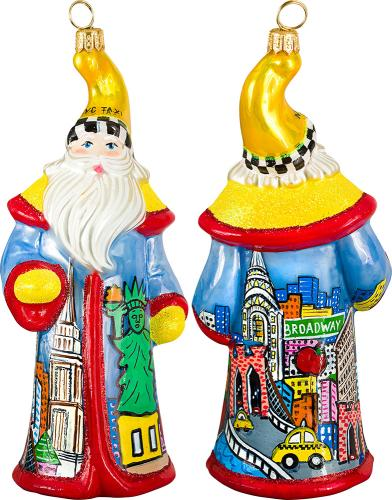 NYC Pop Art Santa