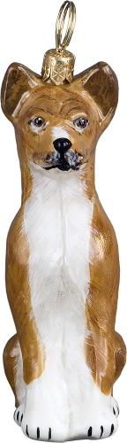 Basenji Dog Ornament