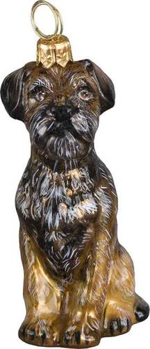 Border Terrier Dog Ornament