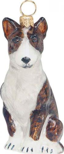 Bull Terrier Dog Ornament