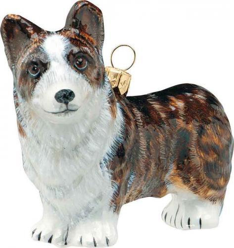 Cardigan Welsh Corgi Dog Ornament
