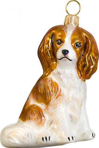 Cavalier King Charles Spaniel (Blenheim) Dog Ornament