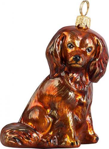 Cavalier King Charles Spaniel (Ruby) Dog Ornament