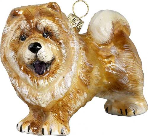 Chow Chow (Red) Dog Ornament
