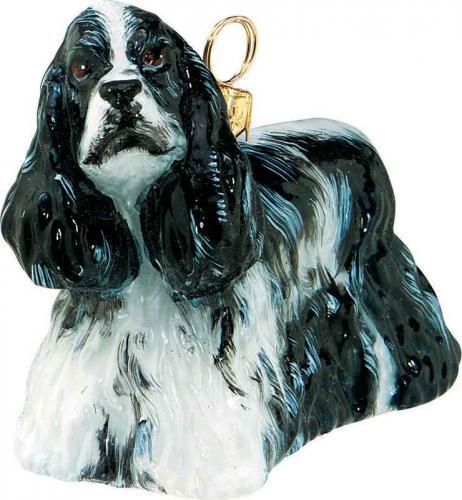 Cocker Spaniel (Parti) Dog Ornament