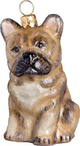 French Bulldog (Cream) Dog Ornament