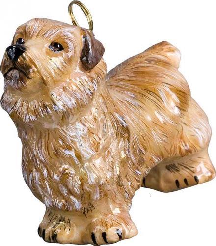 Norfolk Terrier Dog Ornament