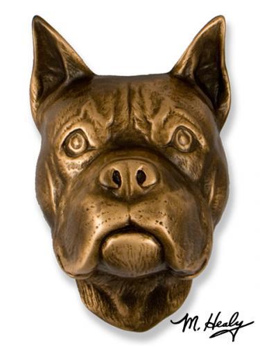 Boxer Dog Door Knocker