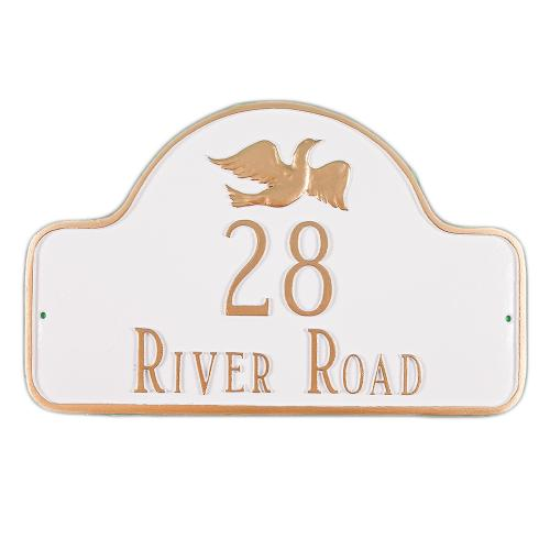 Decorative Arch Plaque - Style: Dove