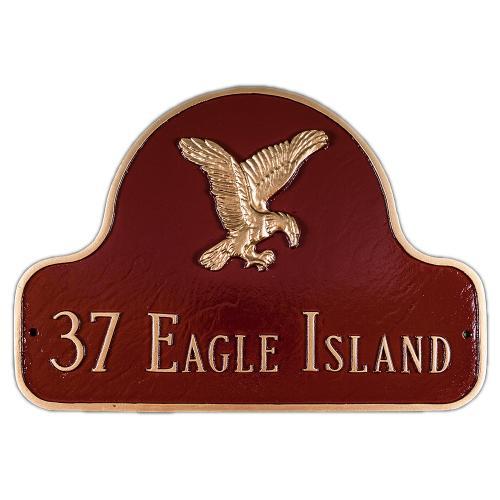 Home >> Decorative Arch Plaques >> Decorative Arch Plaque Style: Eagle