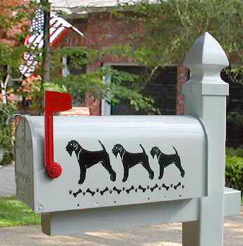 Airedale Terrier Dog Mailbox