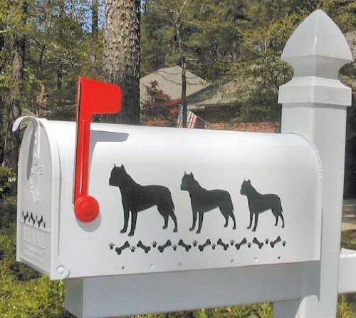 AmStaff Terrier Dog Mailbox