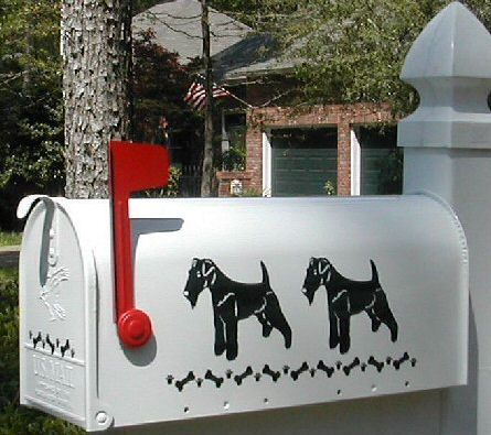 Home >> Dog Mailboxes >> Welsh Terrier Dog Mailbox