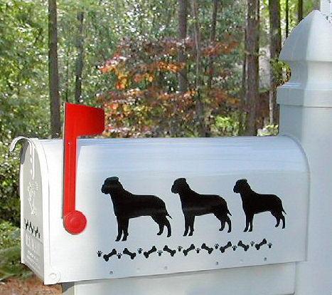 Bullmastiff Dog Mailbox