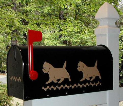 Cairn Terrier Dog Mailbox