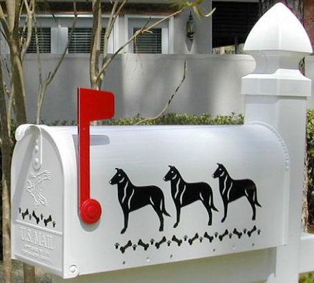 Collie (Smooth) Dog Mailbox