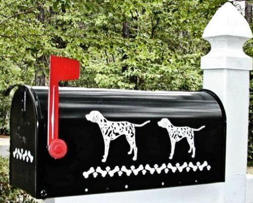 Dalmatian Dog Mailbox