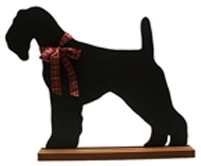 Airedale Terrier Dog Breed Chalkboard