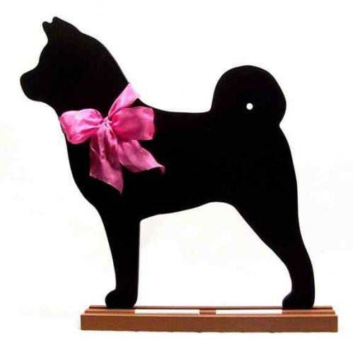 Akita Dog Breed Chalkboard